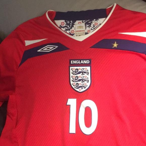 2010 England Soccer Football Steven Gerrard Jersey.  M 5b9a444a45c8b30ab932d6c8. Other Shirts you may like. Umbro shirt bdb20ae8f
